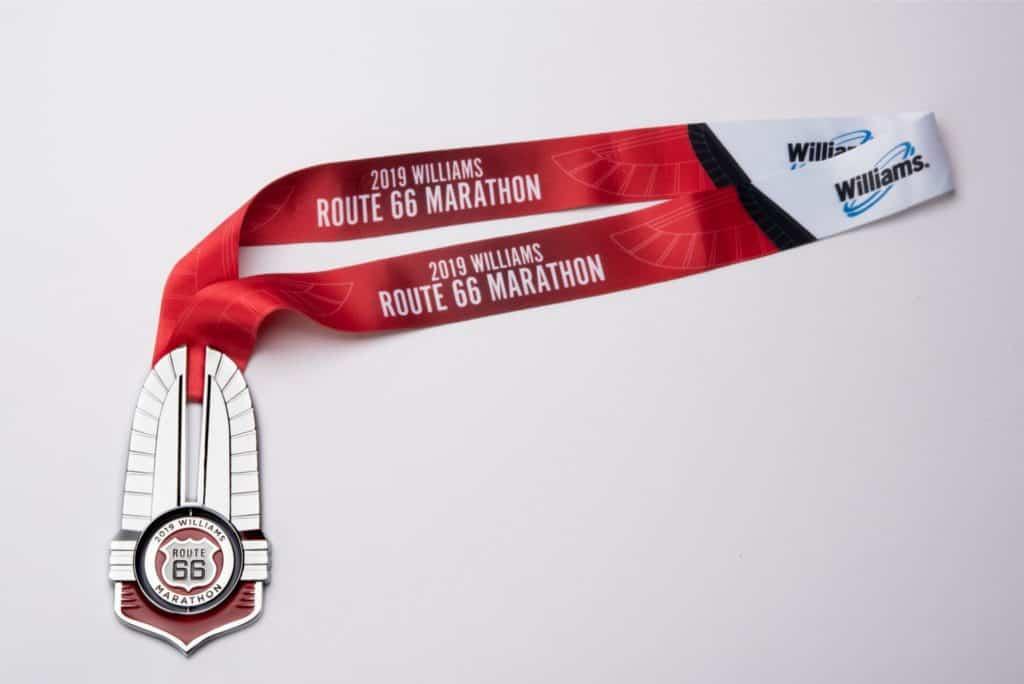 Route 66 Marathon Medal