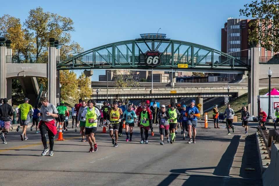 Tulsa Marathon Route 66