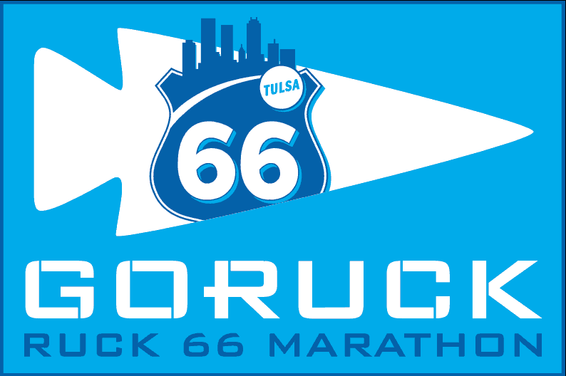 Go Ruck Route 66 Marathon patch Tulsa