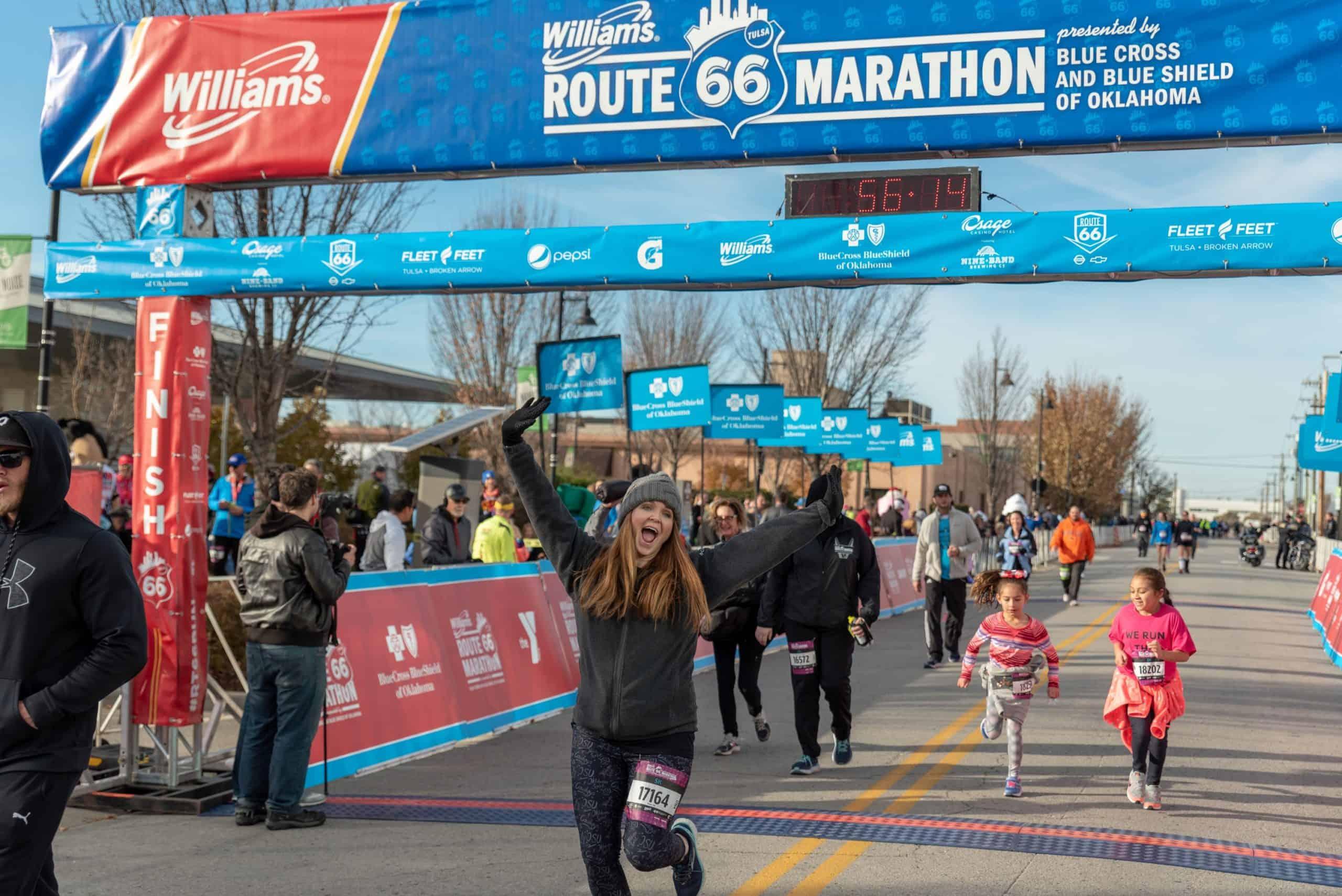 Route 66 Marathon 5k Finisher