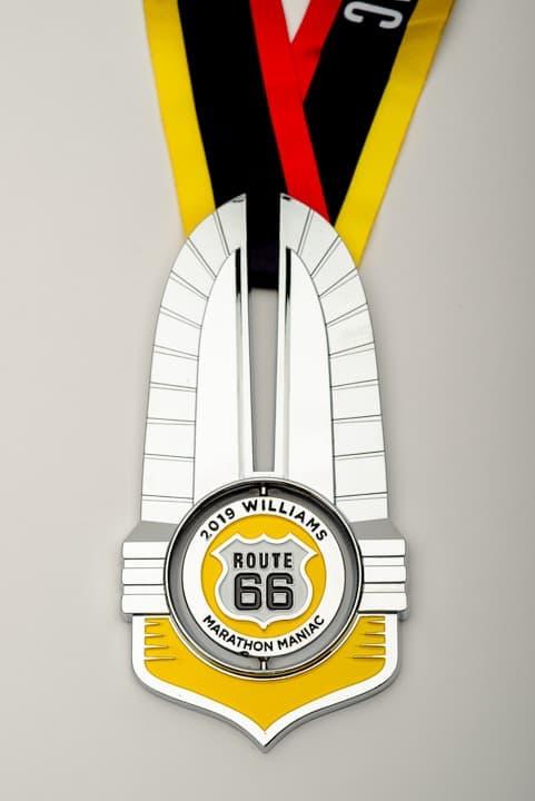 Marathon Maniac Medal