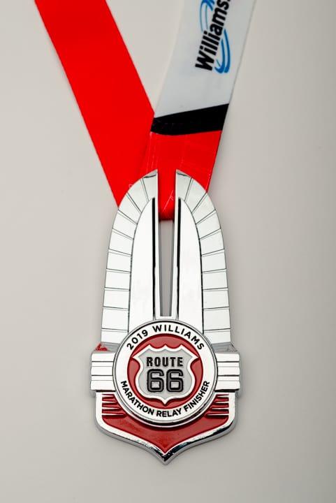 Marathon Relay finisher Medal