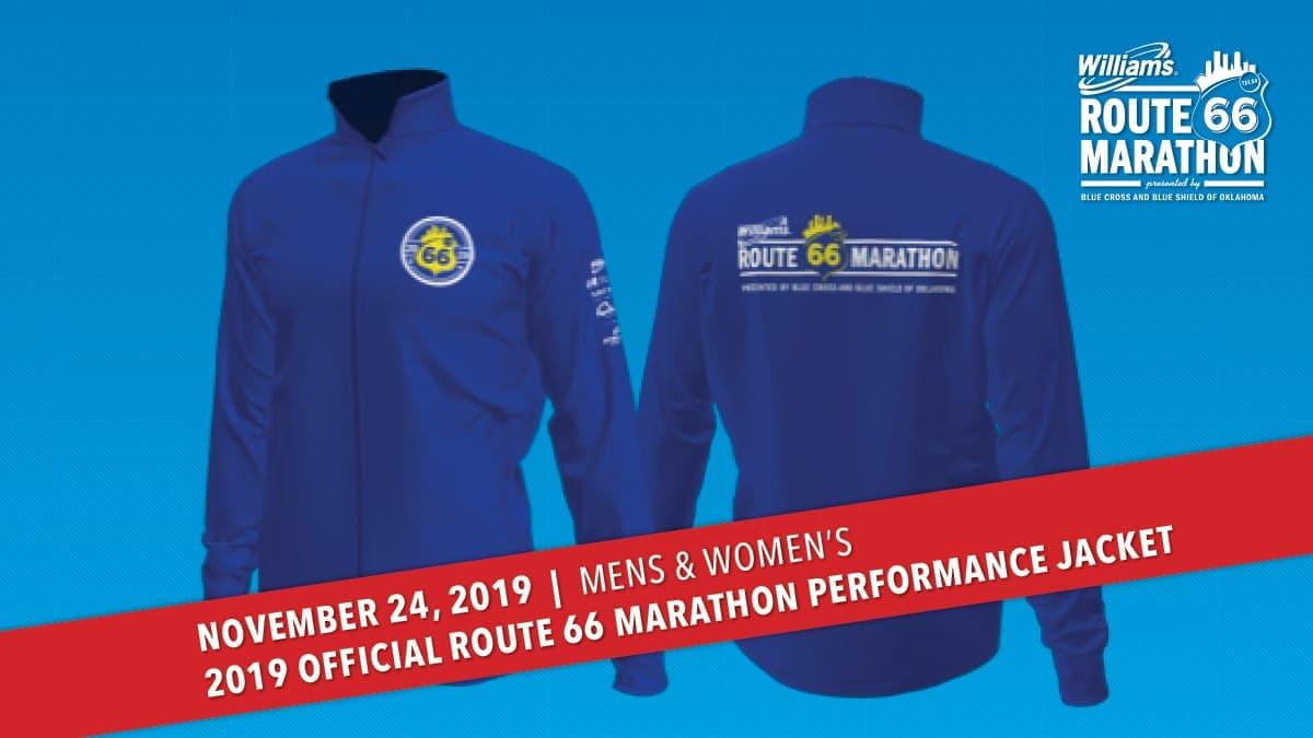 Marathon and Half Marathon Jacket