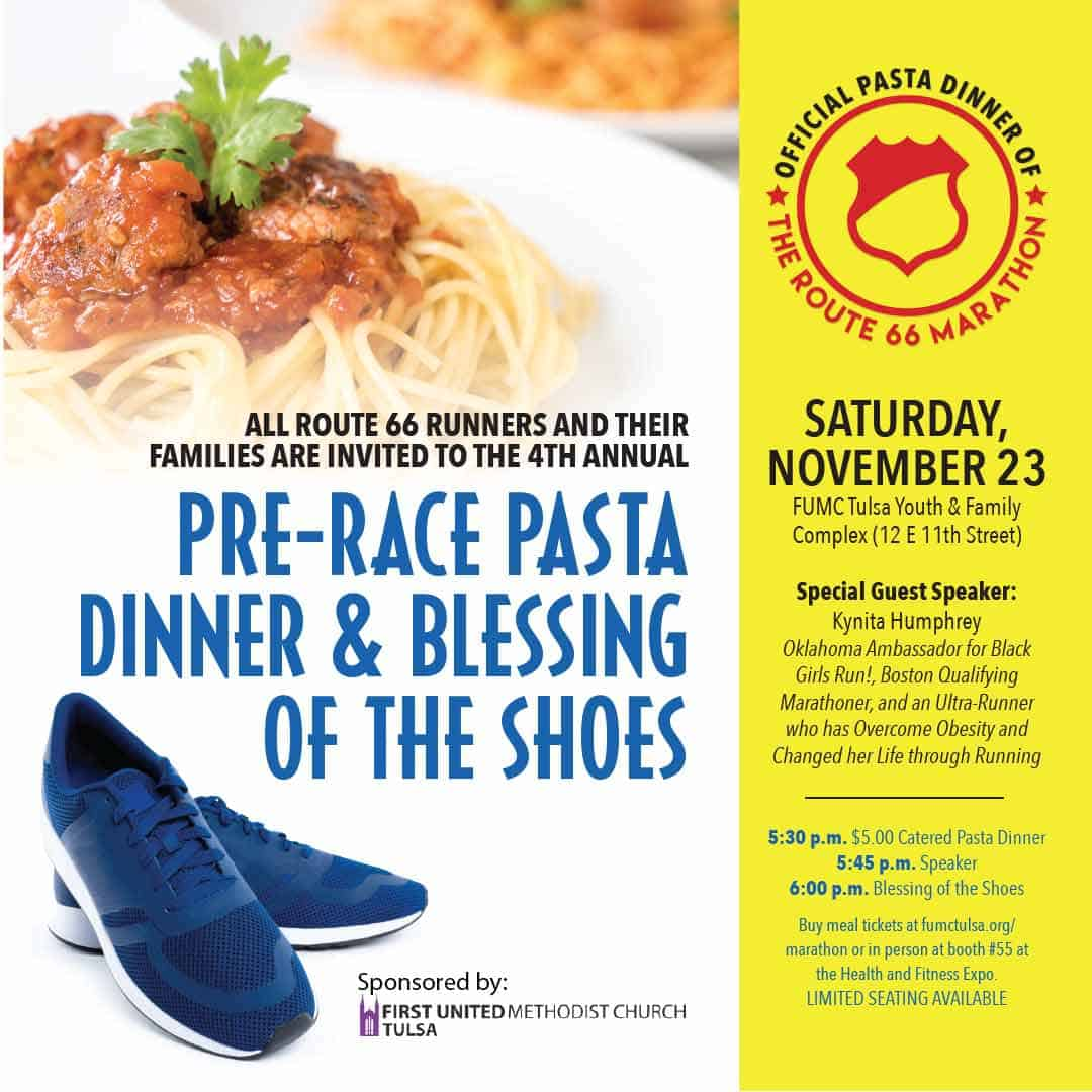 official pasta dinner of the Williams Route 66 Marathon