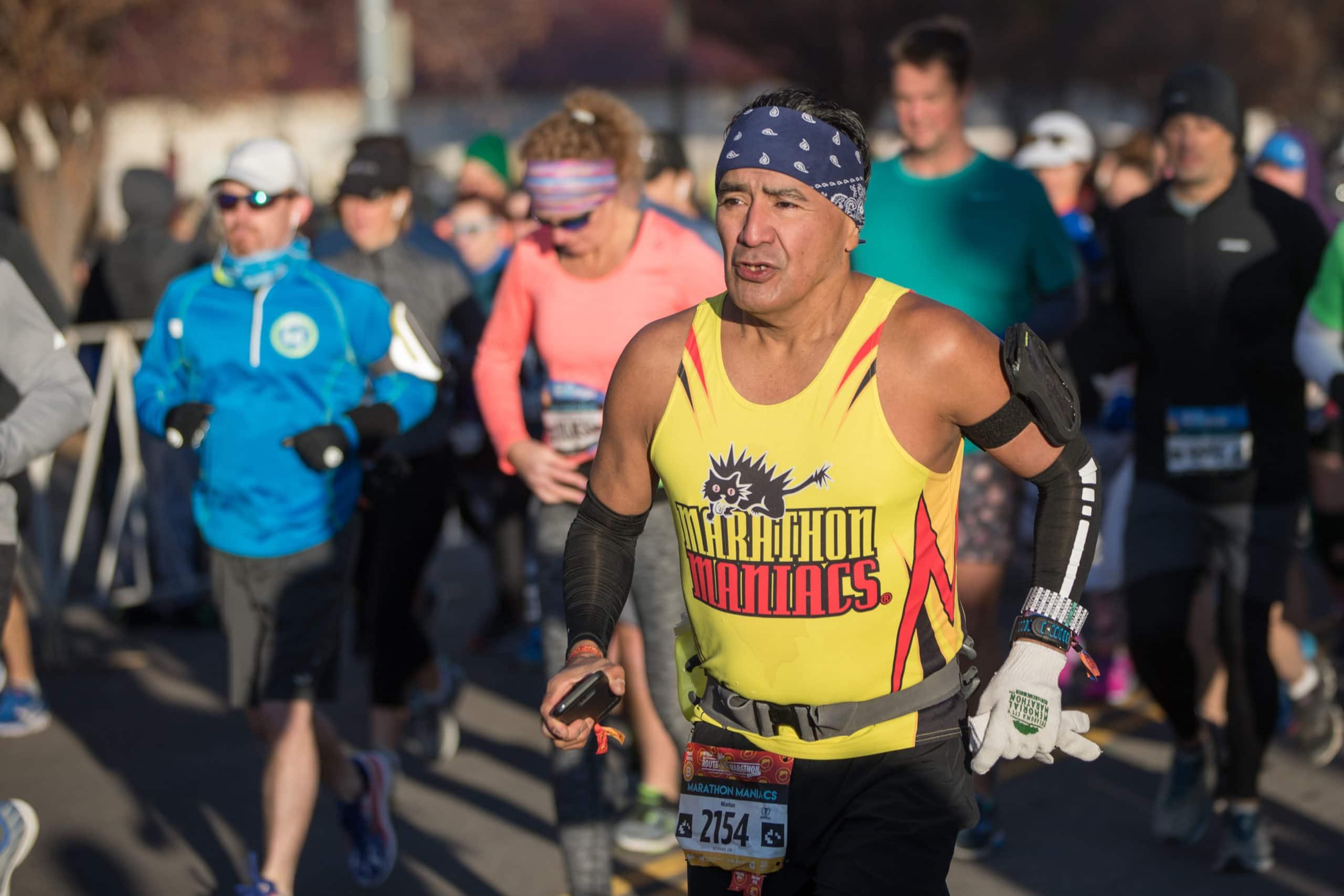 The Route 66 Marathon's Biggest Fans